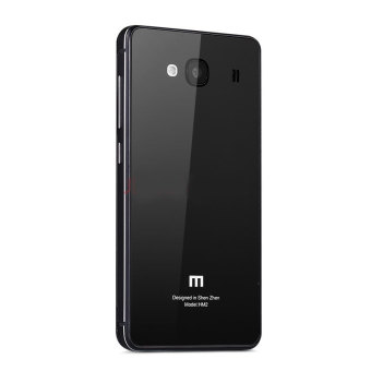 Harga Hardcase Aluminium Tempered Glass Series For Xiaomi Redmi 2 Prime - Black