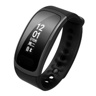 Harga SX100 Wristband Heart Health Monitor Bluetooth Smart Band Blood Oxygen Monitor Pedometer IP67 Water Proof Bracelet Fitness Tracker Watch - intl