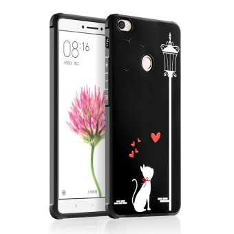 Harga Hicase Cute Pattern Slim Fit Soft TPU Case Cover for Xiaomi Mi Max (Cat) - intl