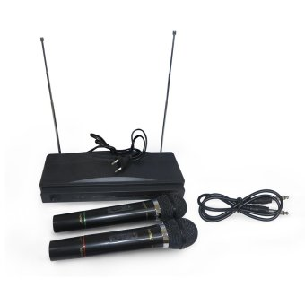 Harga Homic Microphone Double Wireless HM-306