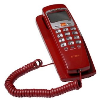 Harga Sahitel S37 Single Line Telephone - Merah