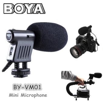 Harga BOYA BY-VM01 Mini Microphone for Handycam/ DSLR Canon/ Nikon