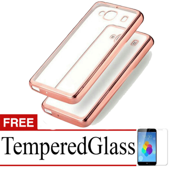 Case Metal For Samsung Galaxy Core 2 G355 Rose Gold Free Tempered Source · Case Ultrathin