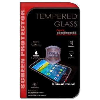 Harga Delcell Samsung Galaxy Note 4 Tempered Glass Screen Protector