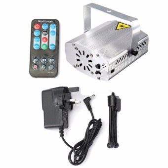 Harga Mini R&G Auto/Voice Xmas DJ Club Party LED Laser Stage Light Projector + Remote UK