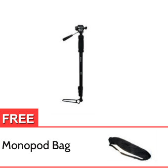 Harga Excell Monopod Mono-006 with Pan Head for Canon (Free Monopod Bag)