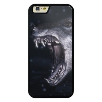 Harga Phone case for iPhone 6/6s LIU Ferocious Animal Angry Wolf cover for Apple iPhone 6 / 6s - intl