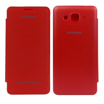 Harga Hardcase Flip Cover Back for Samsung Galaxy Grand Prime G530 - Merah
