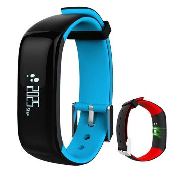 P1 Smartband Watches Heart Rate Heart Rate Monitor Bluetooth Smart Bracelet Fitness Bracelet for IOS Android Smart Phone - intl