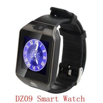 Harga DZ09 Bluetooth Smart Watch Phone Mate GSM Camera SIM Card For IOS Android iphone Samsung - intl