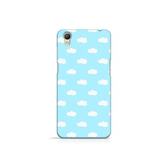 Harga Premium Case Cute Blue Cloud Oppo A37 Hard Case Cover