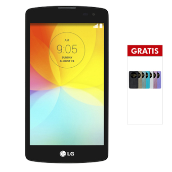 Harga LG L Fino Quadcore - 4GB - Black - Free Quick Window