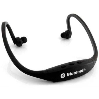 Harga Teiton USB Sport Neck Wireless Bluetooth Headset - Hitam