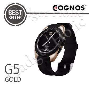 Harga Cognos Smartwatch G5 - Heart Rate - Gold