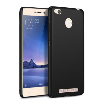 Slim Matte Protective Hard Case Cover for Xiaomi Redmi 3S Black .