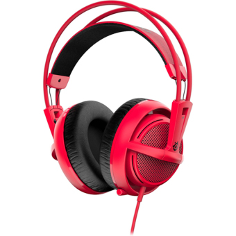 Harga SteelSeries Siberia 200 Forged Red Gaming Headset