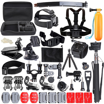 Harga Cognos C-MAX 8 Action Camera Large Include 50 Pcs Accessories Big Cam Bag for Action Camera