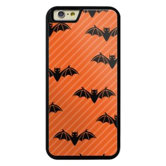 Harga Phone case for iPhone 6/6s Animal bats stripe brown cover for Apple iPhone 6 / 6s - intl