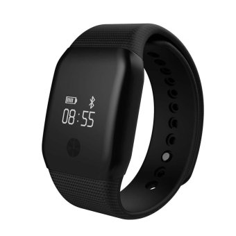 Harga A88+ Smart Watch With Blood Oxygen Wristband Heart Rate Fitness Tracker Monitor (Black) - intl