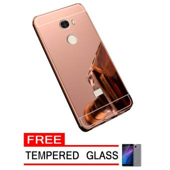 Vivo V5 Y67 Aluminium Bumper With Mirror Backdoor Source · Harga Case Metal .