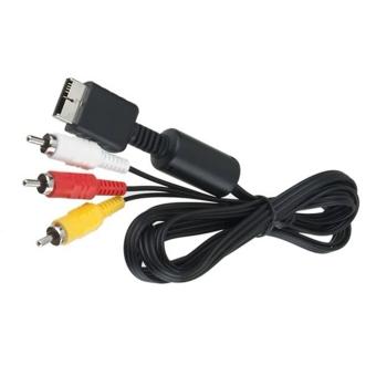Elenxs New 1 M Kabel Av Kabel Rca Dari Video Untuk Sony Playstation Source · Harga
