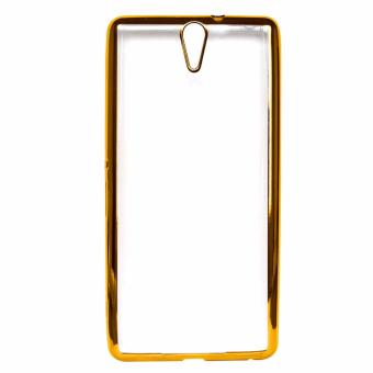 Harga Ultrathin Iphoria Shining Case Oppo R827/Find 5 mini - Gold