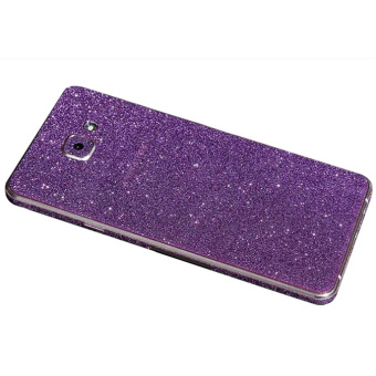 Harga Dull Polish Rhinestone Diamond Shining Bling Full Body Skin Sticke Front Back Glitter Cover Film for Samsung GALAXY A7100