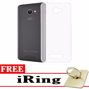 Black Clear Free Source Softcase Silicon Ultrathin for Smartfren Andromax B White