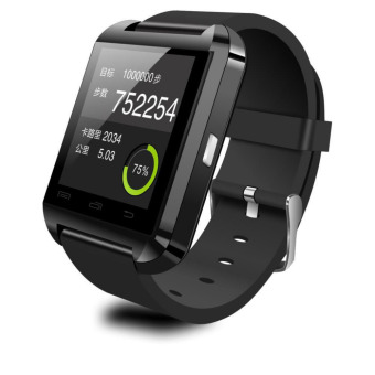 Harga TiFo Smartwatch U Watch U8 Bluetooth - Hitam