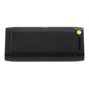 Harga QCY QQ100 Mini Portable Multifunctional Bluetooth 3.0 Wireless Speaker with 3-in-1 Power Bank + Bluetooth Speaker + Flashlight Function - Black