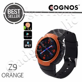 Harga Cognos Smartwatch Z9 Android 5.1 - GSM Sim Card - Heart Rate - Orange