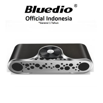 Harga Bluedio TS-3 Turbine Wireless Bluetooth V4.2 Speaker with 59mm Subwoofer with Micro SD Card Slot - Hitam