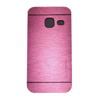 Harga Motomo Samsung Galaxy J1 Mini Hardcase Backcase Metal Case - Pink
