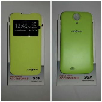 Harga Leather Case Advan ORI S5P