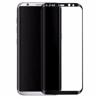 Harga Samsung Galaxy S8 Screen Protector 3D Full Cover rounded edges HD Clarity Tempered Glass - intl