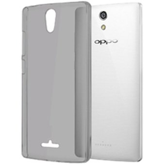 Harga Ultrathin Softcase Oppo Find 5 Mini R827 - Hitam Clear