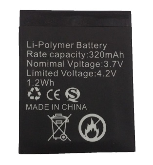 ZGPAX Original 320 mAh 3.7V Battery for S79 Hitam