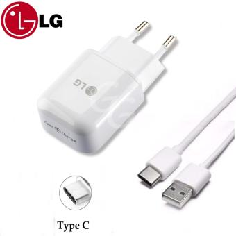 Harga LG Fast Charger MCS-H05ED Suport Micro USB / Type C for LG G5 and Other - Original