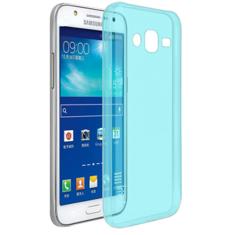 Harga Ultrathin Softcase Samsung Galaxy J1 Mini - Biru