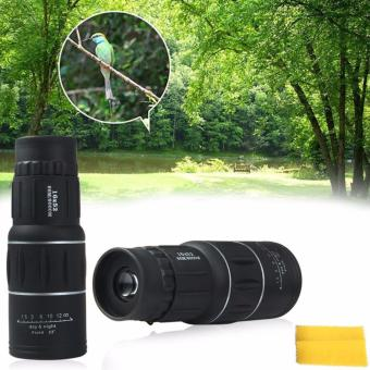 Harga Amart Magic Portable 16 x 52 Dual Focus Zoom Optic Lens 16X Monocular Telescope - intl