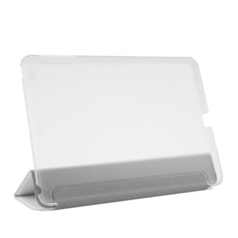 OH PU Leather Plastic Ultrathin Tri-fold Cover Stand for Apple iPad Mini 1/