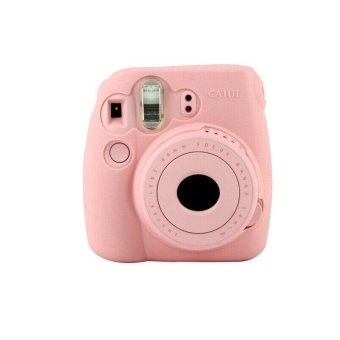 Harga Noctilucent Camera Case Skin Cover For FUJIFILM Instax Mini8 Mini8s Pink - intl