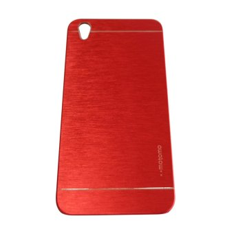 Harga Motomo Oppo F1 Plus / R9 Metal Hardcase / Metal Back Cover / Hardcase Backcase / Metal Case – Merah