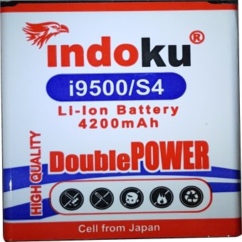 Indoku Battery Double Power for Samsung Galaxy S4 / i9500 (3600 mAh)