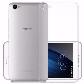 Transparent Clear Soft Silicone TPU Phone Cover Case For Meizu Meilan U20 - intl