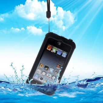 REDPEPPER Waterproof Dive Case for iPod Touch 6 with Kickstand - Black - intl