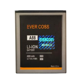 Harga Evercoss Battery A88 - Hitam
