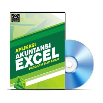 Harga Premium DVD Software Aplikasi Akuntansi Excel - Full Version