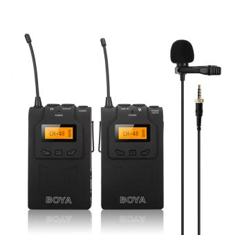 Harga BOYA BY-WM6 UHF Wireless Microphone System