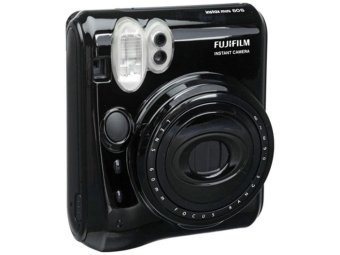 Harga Fujifilm Instax Polaroid Camera Mini 50s Black - Hitam